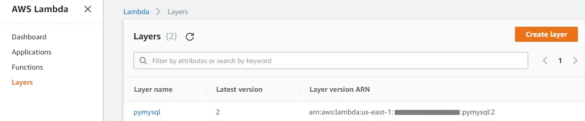 AWS Lambda Layer example in python - Technology Blog
